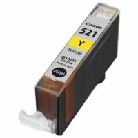 Compatible Canon CLI-521 Yellow