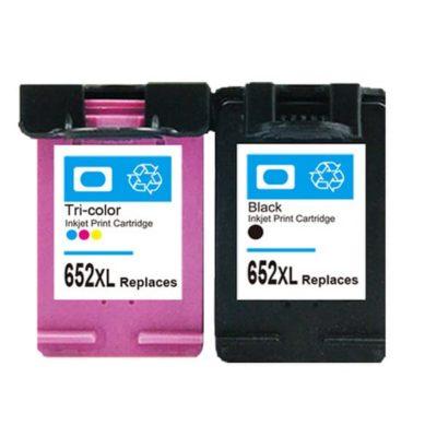 Compatible HP 652 (F6V25AE)