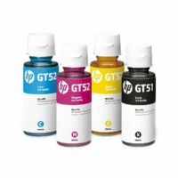 Compatible HP GT52 Yellow Ink Bottle
