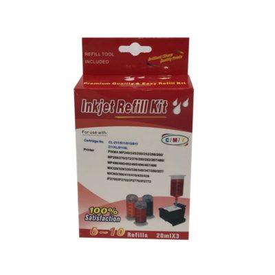 Canon 511 / 513 Colour Refill Kit