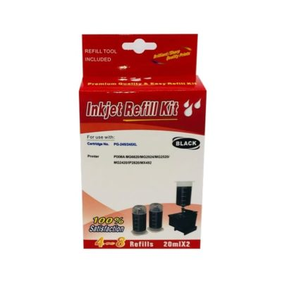 Canon 445 / 445XL Black Refill Kit