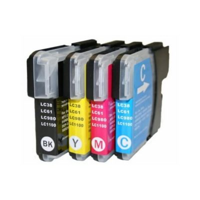 Compatible Brother LC-38 Cyan Ink Cartridge